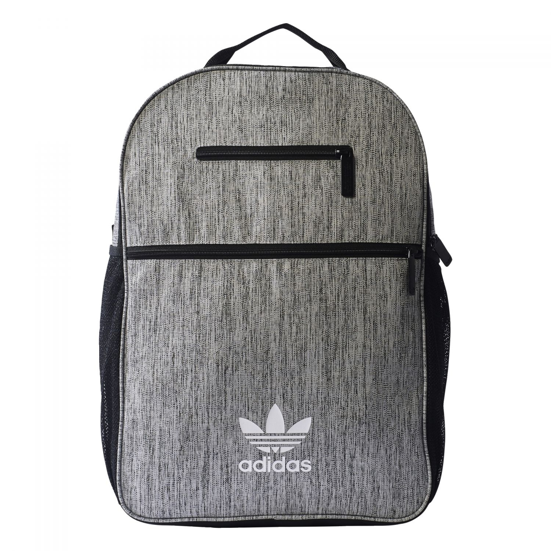 52f7d6ce616bc adidas Originals Essential Casual Backpack Freizeit Rucksack grau ...