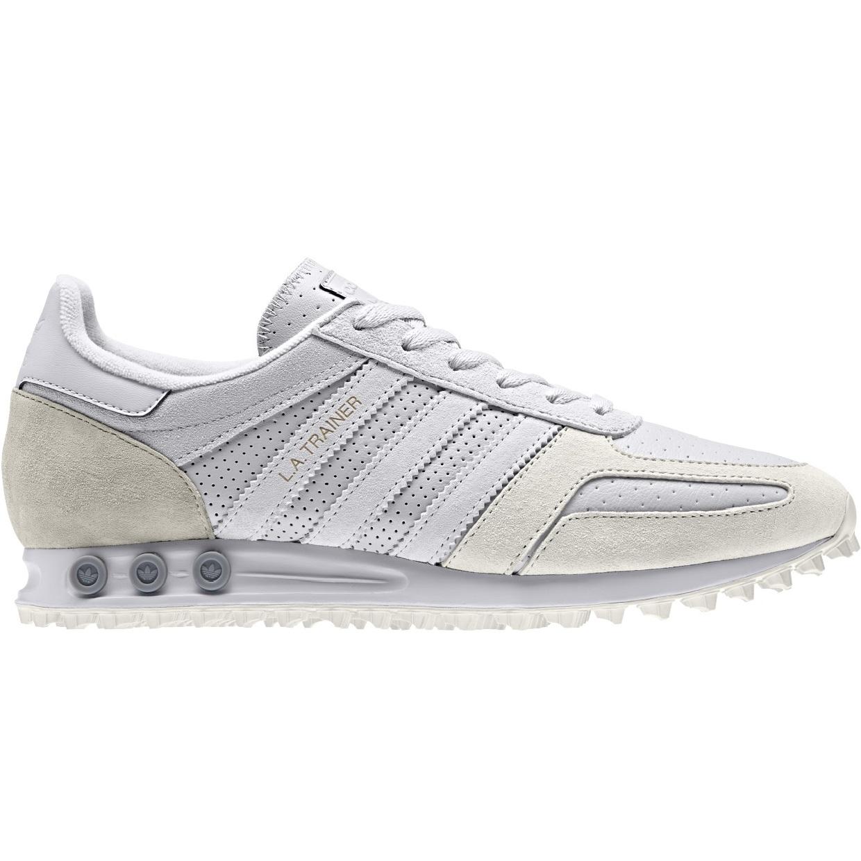 Authentische Adidas Originals LA Trainer GrauRosa Casual