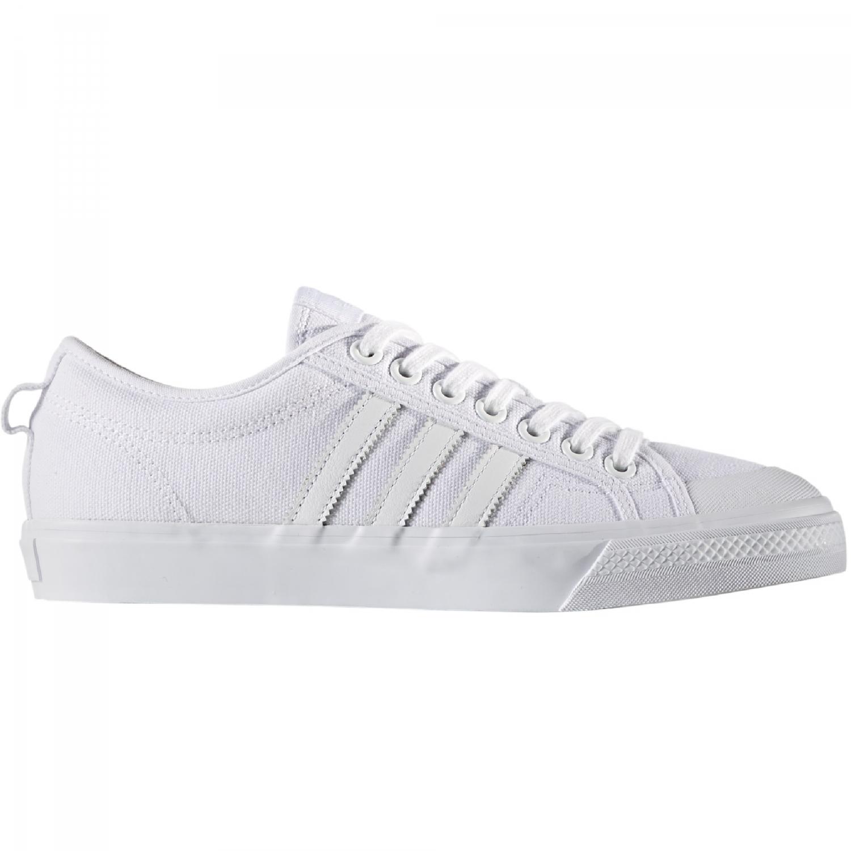 ef7461f42b Das Bild wird geladen adidas-Originals-Nizza-Sneaker-Herren-Schuhe-weiss -Freizeit-