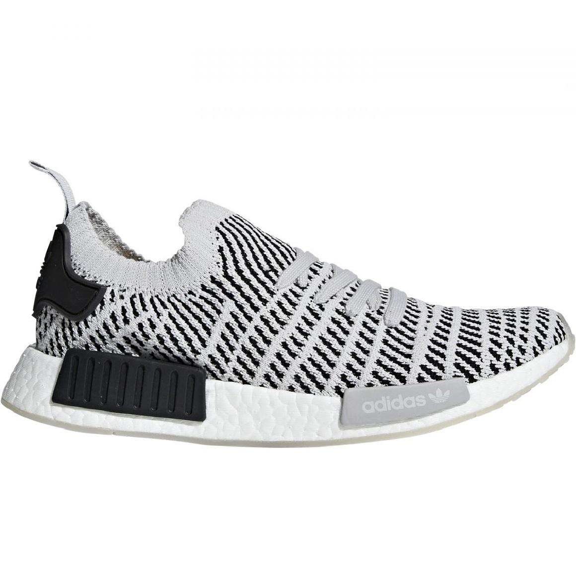Adidas Originals Nmd R1 Stlt Primeknit Sneaker Herren Schuhe Grau