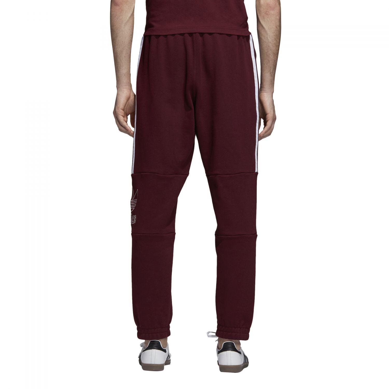 Details zu adidas Originals Outline Pant Herren Jogginghose rot DH7073