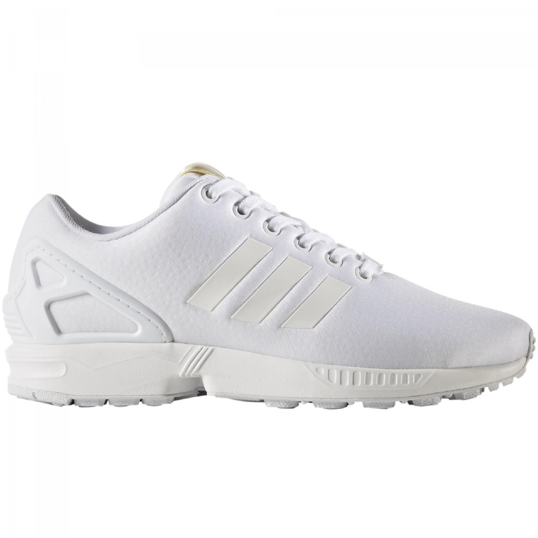 super popular 4403a c49d1 adidas Originals ZX Flux Sneaker Damen Schuhe weiß gold