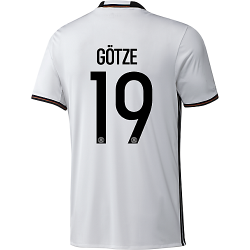 adidas DFB Deutschland Home Trikot Götze EM 2016