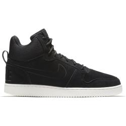 Nike Court Borough Mid Premium Herren Freizeitschuhe schwarz