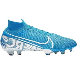 nike football boots mercurial blue