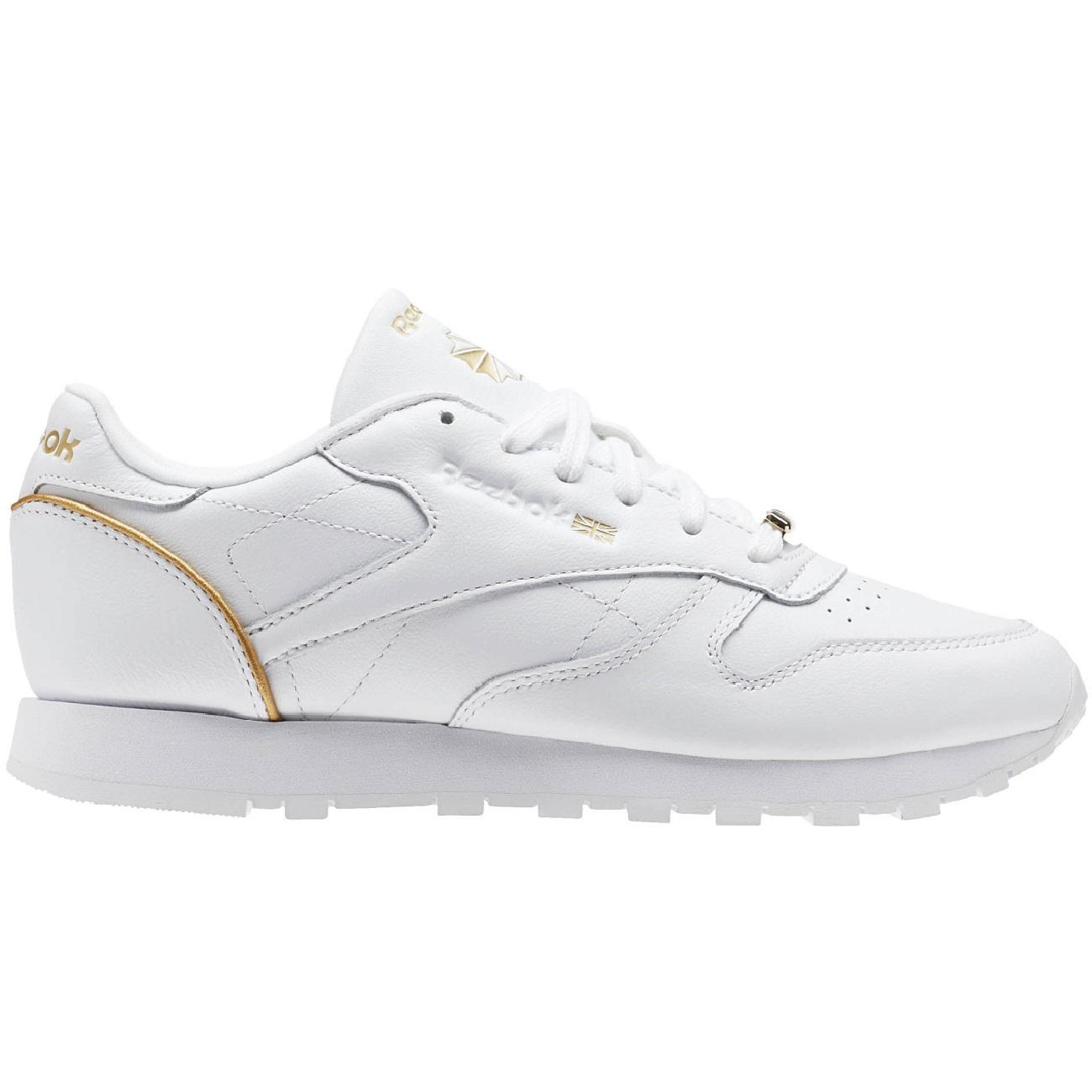 Sneaker Hw Aj53lq4r Classic Rose Weiß Damen Leather Gold Reebok fyYIgb76v