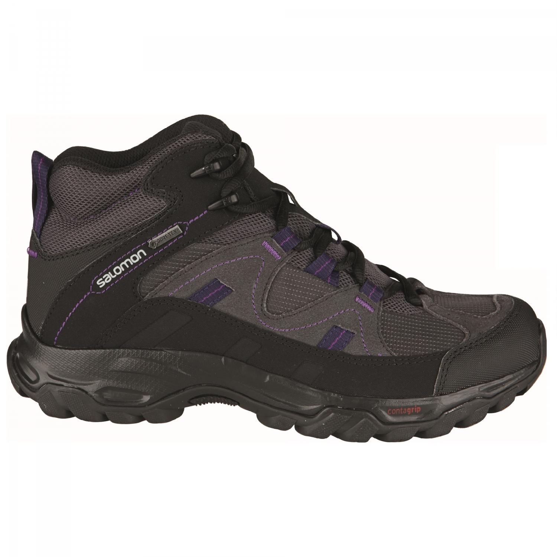 Damen Fitness- & Laufschuhe Salomon GoreTex RAWSON GTX Schuhe Trekking Outdoorschuhe Trail Wandern grau NEU